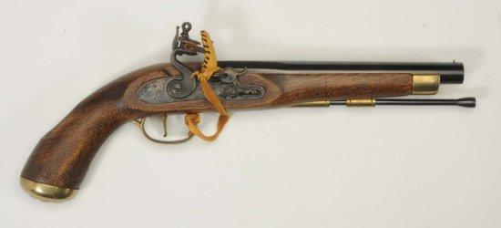 Flintlock .45 Cal. Pistol.