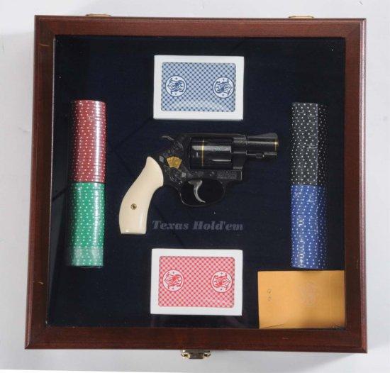 """S&W """"Texas Hold Em"""" .38 SPL. Revolver.**"""
