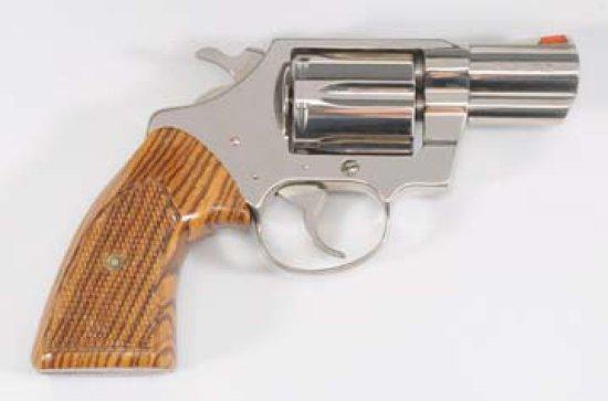 Colt .38 Cal. Revolver**.