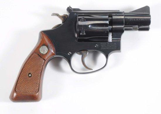 Smith & Wesson Model 34-1 .22 LR Cal. Revolver.**