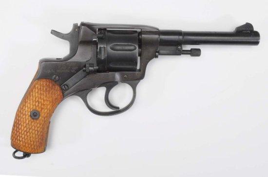 Russian 7.62 mm Cal. Revolver**.