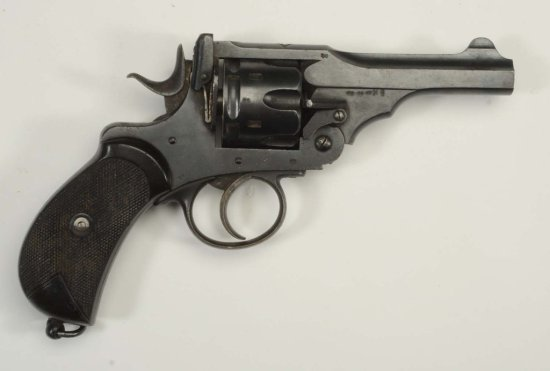 British .455 Cal. Revolver.
