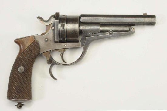 Belgian .44-.45 Cal. Revolver.