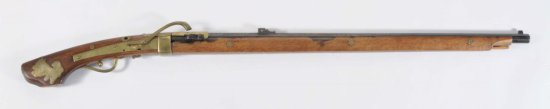 Japanese Matchlock Approx. 47 Cal. Rifle.