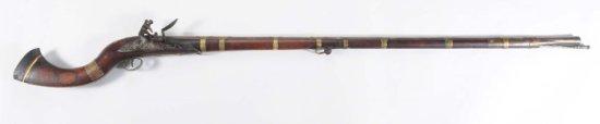 Middle Eastern Flintlock .60 Cal Rifle.