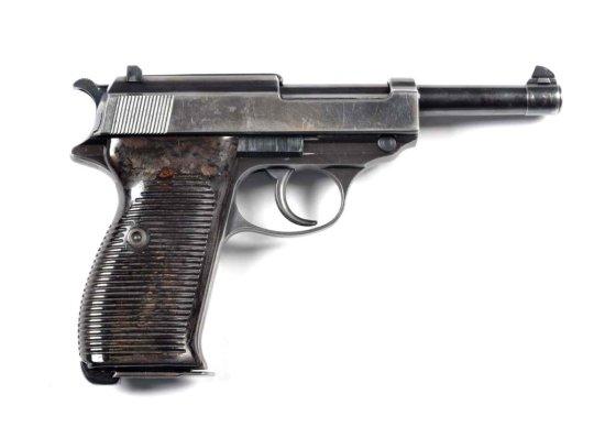 **Nazi Marked Walther P.38 Semi-Automatic Pistol.