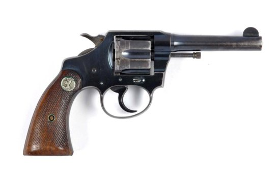 **Colt Official Police Double Action Revolver.