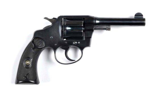 **Fine Colt Police Positive Revolver.