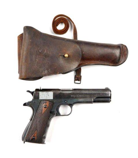 **Colt Model 1911 U.S. Semi-Automatic Pistol.