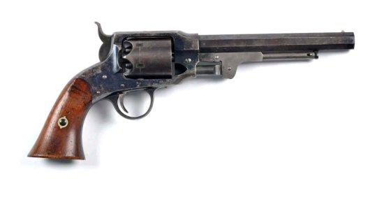 Fine Martially Marked Rogers & Spencer Revolver.