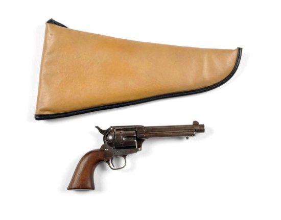 Colt Model 1873 S.A.A. U.S. Artillery Revolver.