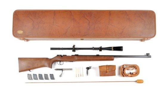 **Remington Mod 513-T Match Master .22 Rifle.