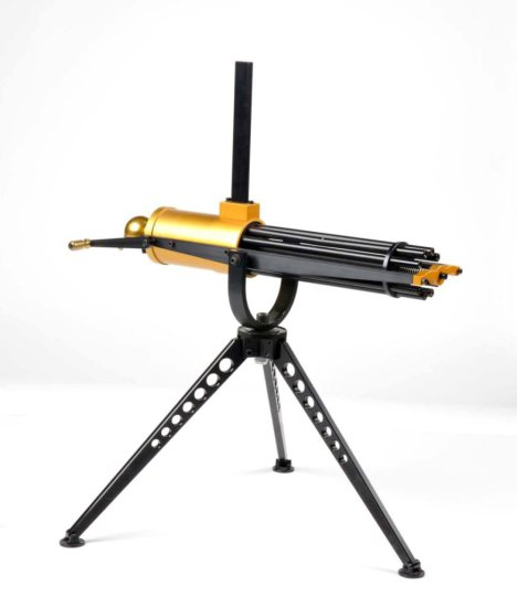 Custom Made .22 Caliber Gatling Gun.
