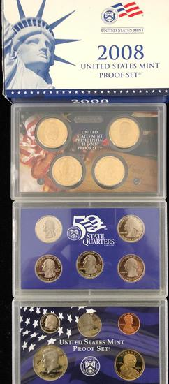 US Mint Proof Sets & 2009 Quarter Proof Set