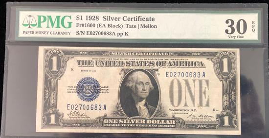 $1 1928 Silver Certificate