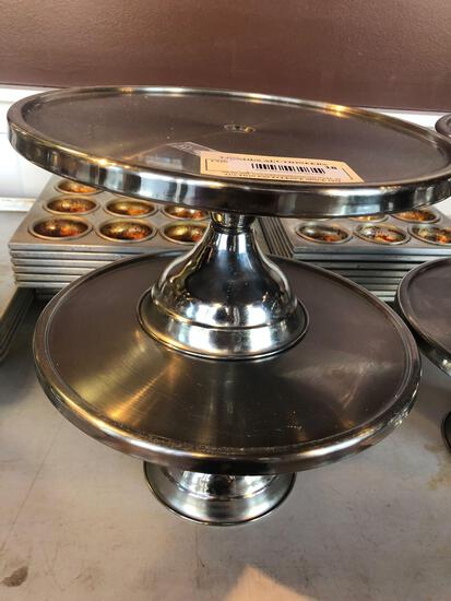 1 lot of 2 Cake Stands