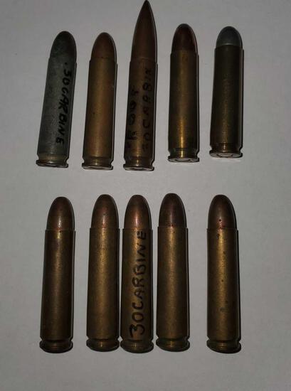 30 MI Carbine Ammo