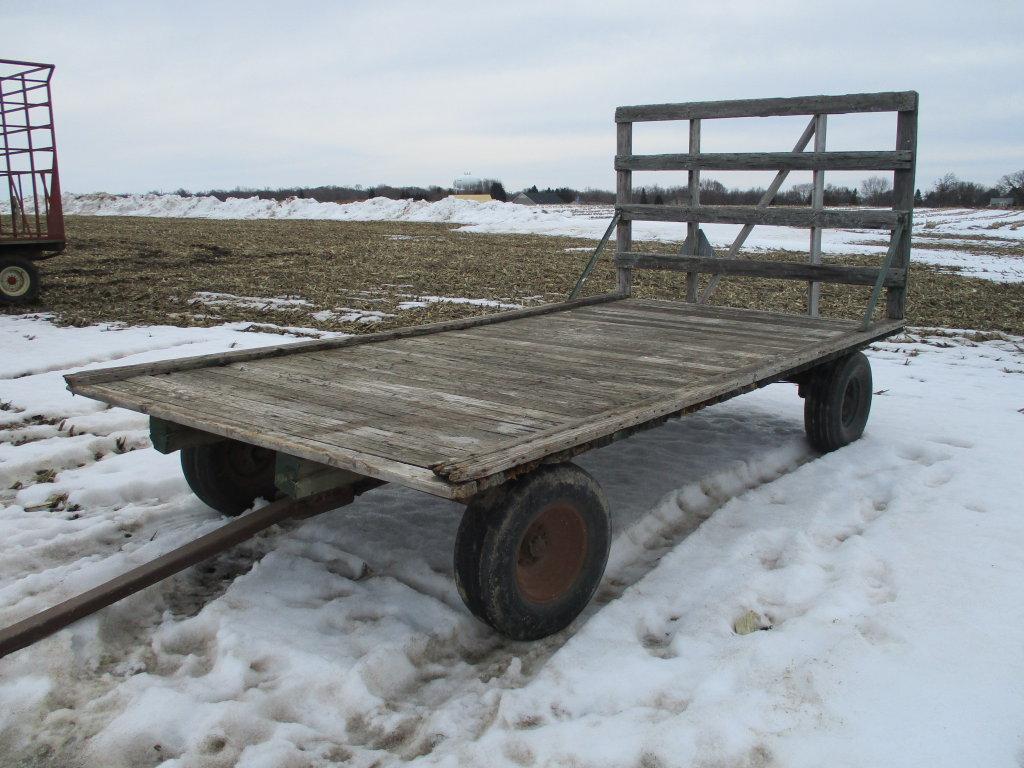 Lot 8 X 16 Wooden Wagon Running Gear Proxibid Auctions