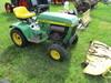 "John Deere 208 garden tractor w/38"" deck, runs"