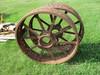 Set of John Deere BR rear steel rims