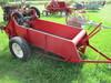 Int. ground driven manure spreader