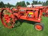 McCormick Deering F12, motor free, will run, rear steel wheels sn#FS72145