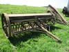 Van Brunt wooden grain drill