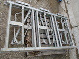 Two 3 head lock panels