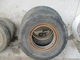Two 11R 22.5 tires & rims