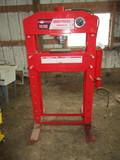 Amoel 75 ton hyd shop press, air or hyd