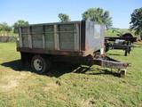 71/2' x 9' Hyd dump trailer, dual wheels