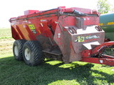 2013 H&S 5134, 3,400 gal Top Spot side slinger, manure spreader w/lid, purchased with upgraded