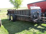 Meyer M425 tandem manure spreader, hyd end gate, top beater, One Owner