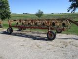 H&S 14 wheel rake, hyd cart, One Owner