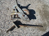 Set of Agri speed quick hitch