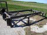 Kehren Industries silage rake, JRB coupler
