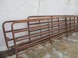 Three gates, 13' 15' 18', SELLS 3 X $