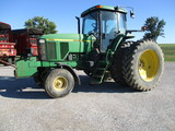 2000 7710 cab, AC, heat, radio, 10,990 hrs. 3pt. 3 hyd, pto, rock box, 18.4Rx42 duals, Second Owner