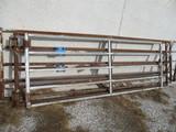 Three gates, 10' 11' 13', SELLS 3 X $