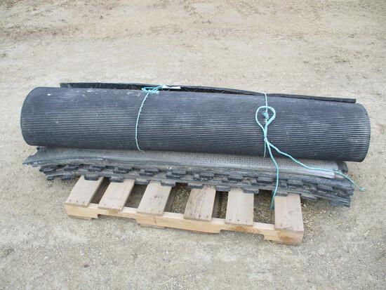 Pallet of rubber mats
