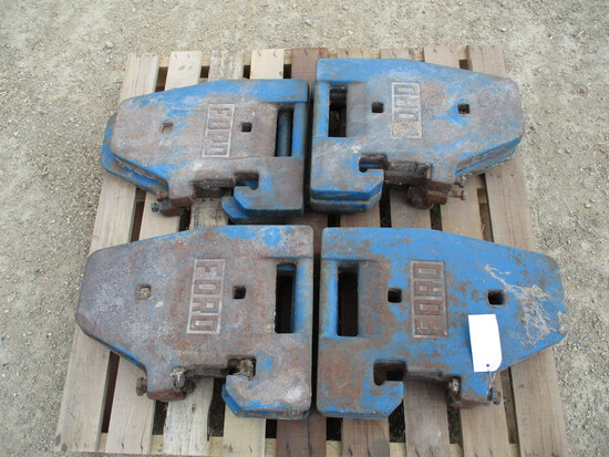 11 Ford tractor weights, SELLS 11 X $