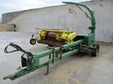 John Deere 3970 chopper, w/JD 3R corn head & JD hay head