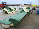 Krone triple cutter, 32 Ft. cutting width, Easy cut F360 CV & Easy cut B1000 CV, 4 years old