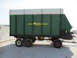 Badger BN 1050, 16 Ft. chopper box, MN tandem gear