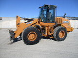 20141 Case 621F wheel loader, 6,168 One owner hrs. cab, AC, heat, radio, aux hyd, JRB coupler
