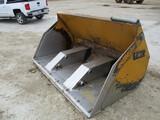4 Yd Hyd tipping bucket, JRB coupler