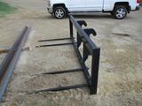 Wheel loader bale spear, JRB coupler, near new