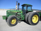 John Deere 4850 MFWD, 10,000 plus hrs. cab, PS, weights, 3pt. 3 hyd, PTO, 18.4-42 axle mnt duals