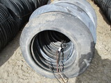 180 Unused cut tires for bunker cover, SELLS 180 X $