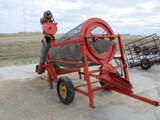 Snowco screener, unload auger, 1 1/2 hp elct. motor